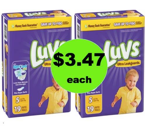 For the Babies! Snag $3.47 Luvs Diapers at Walmart! (Ends 4/14)