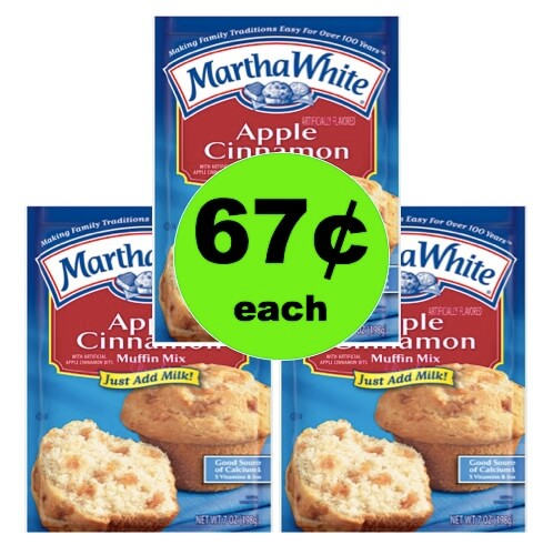 Pick Up Martha White Muffin Mix Only 67¢ at Winn Dixie! (Ends 4/27)