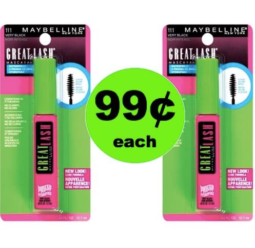 PRINT NOW for 99¢ Maybelline Mascara at Target! (Ends 4/14)