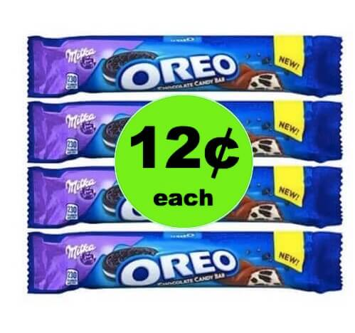 EVEN CHEAPER! Get $.12 Milka Oreo Bars at Target! (Ends 4/28)