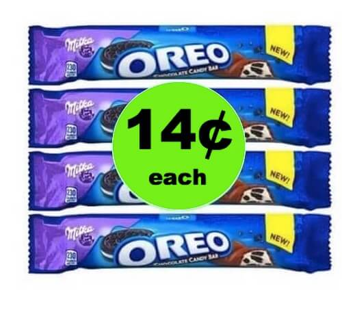 RUN to Walgreens for 14¢ Oreo Candy Bars (at Target & Walmart too)! (4/15-4/21)