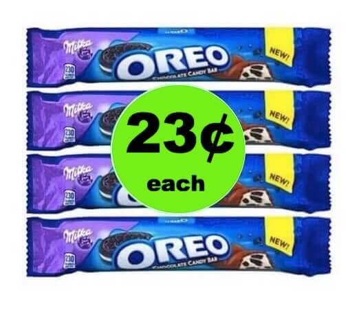 MORE CHEAP CHOCOLATE! Snag 23¢ Oreo Candy Bars at Walmart! (Ends 4/28)