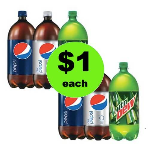 THIRSTY? Pick Up $1 Pepsi Products 2L Bottles at Winn Dixie! (Ends 4/17)
