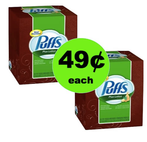 Puffs Tissues Only $.49 at CVS! (4/15-4/21)