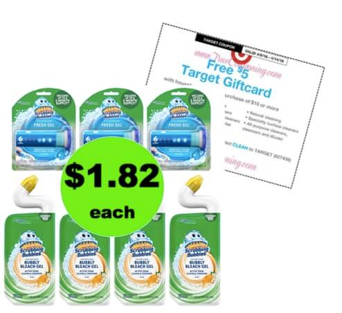 So Long Germs with 86¢ Scrubbing Bubbles Toilet Products at Target! (Ends 4/14)