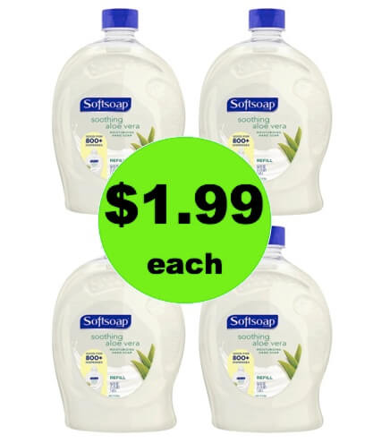 Save 50% on Softsoap Hand Soap Refills at Target! (Ends 4/14)