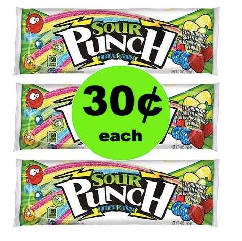 Pick Up 30¢ Sour Punch Candy at Target! (Ends 5/5)