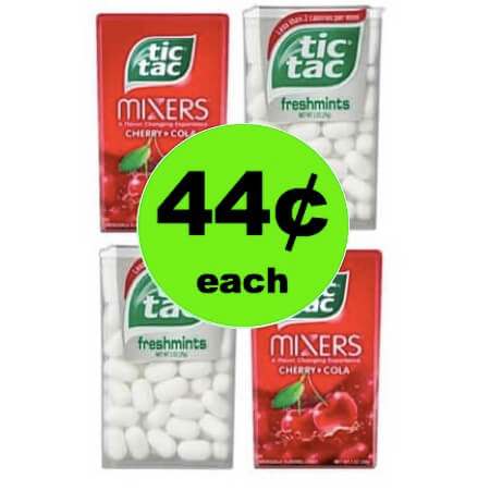 Freshen Your Breath Anytime with 44¢ Tic Tac Mints at Target! (Ends 4/14)