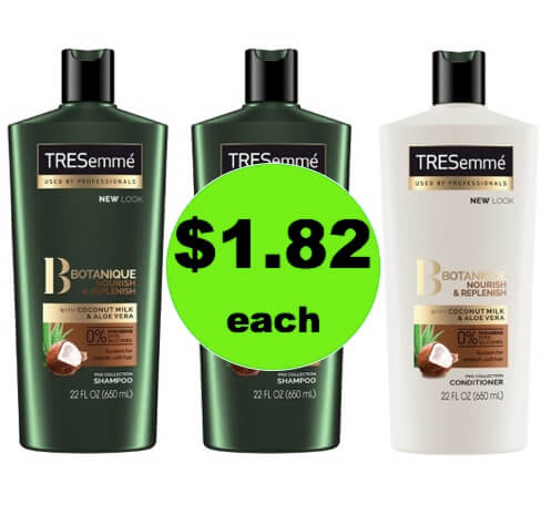 Pick Up $1.82 Tresemme Hair Care at Target (Reg. $5)! (Ends 4/11)
