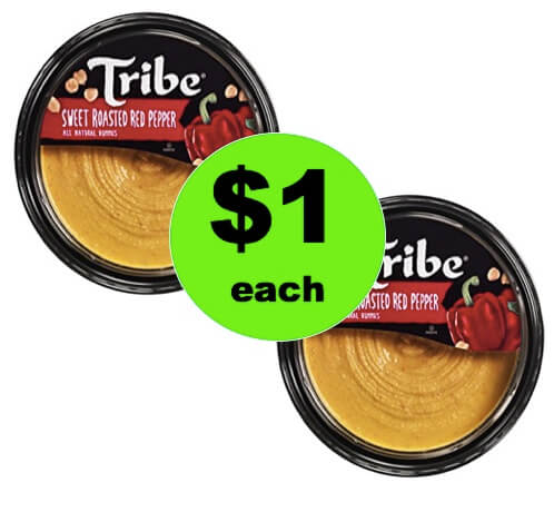 Great for Snacking! Get $1 Tribe Hummus at Winn Dixie! (Ends 4/10)
