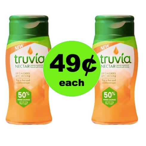 SA-WHEET! Pick Up 49¢ Truvia Nectar at Target!