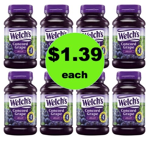 Serve Up the Toast with $1.39 Welch's Jelly at Target! (Ends 4/28)