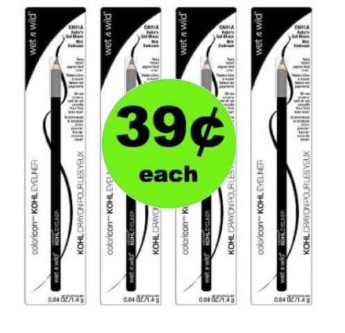 SNAG 39¢ Wet N Wild Eyeliner at Target! (Ends 4/28)