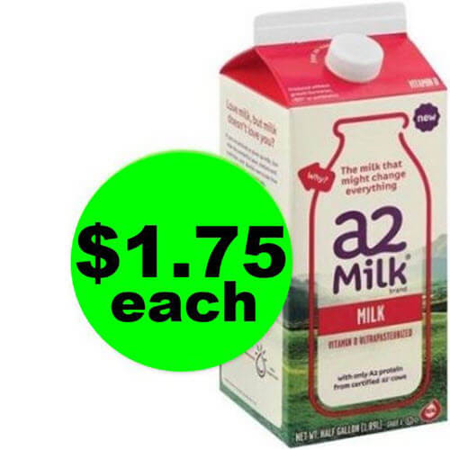 Drink Up! ? a2 Milk is $1.75 at Publix (After Ibotta, Save 61% Off)! (7/18-7/24 or 7/19-7/25)
