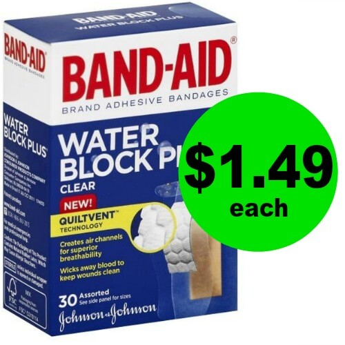 Band Aid Water Block Bandages are $1.49 at Publix! (Ends 6/1)