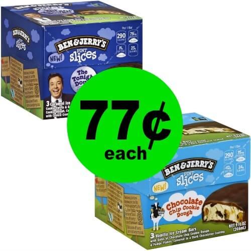 🍦Ben & Jerry's Pint Slices are 77¢ at Publix! (5/23-5/29 or 5/24-5/30)