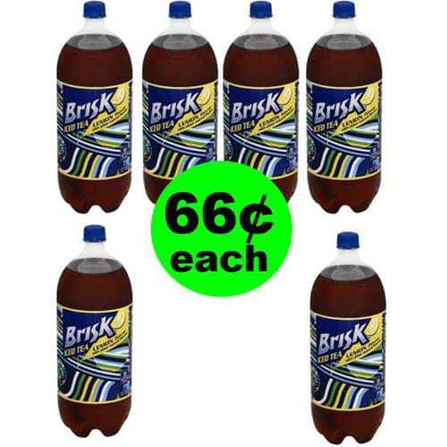 Print For 66¢ Brisk Tea 2 Liters At Publix! (Ends 5/22 Or 5/23)