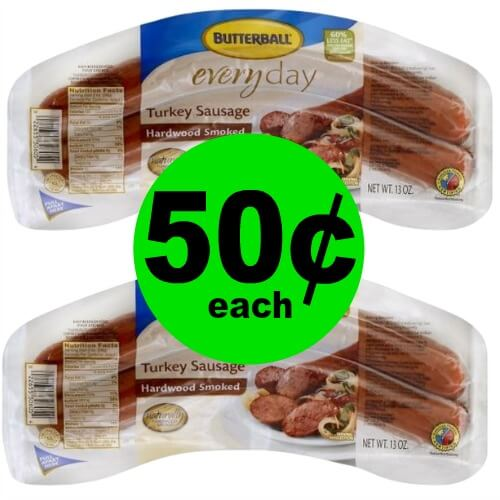 Butterball Meat Products As Low As 50¢ Each at Publix! (Ends 5/29 Or 5/30)
