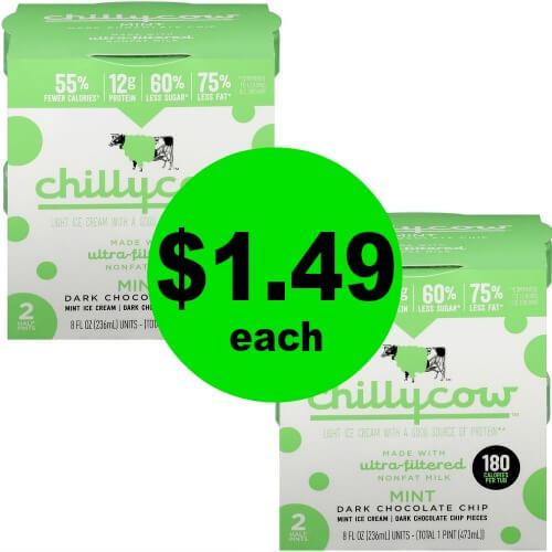 ?Ice Cream Sale! Chilly Cow Only $1.49/Box (73% Off!) At Publix! (Expiring 5/31)