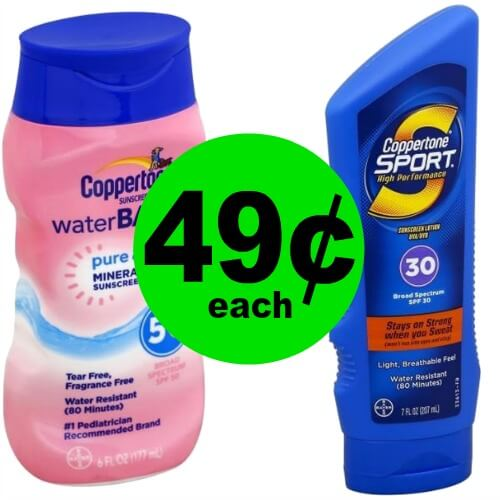 ☀️ Coppertone Sunscreen is 49¢ at Publix! (Ends 5/26)