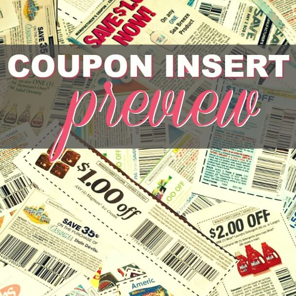 7/1/18 Coupon Insert Preview: (1) P&G
