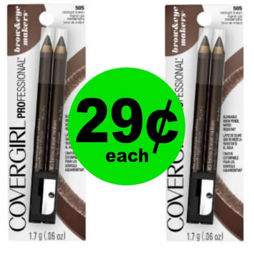 Cover Girl Brow & Eyemakers Eyeliners, 29¢ at CVS! (5/6-5/12)