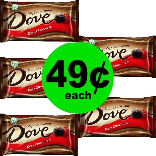 Dove Promises Candy Bags, 49¢ at CVS! (Ends 5/12)