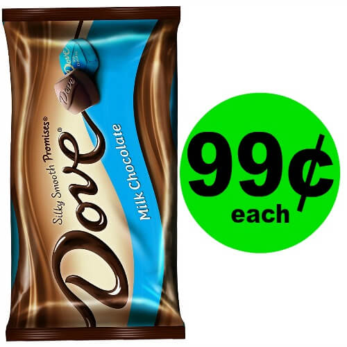 🍫Chocolate Alert! Dove Chocolates are 99¢ at CVS! (6/3-6/9)