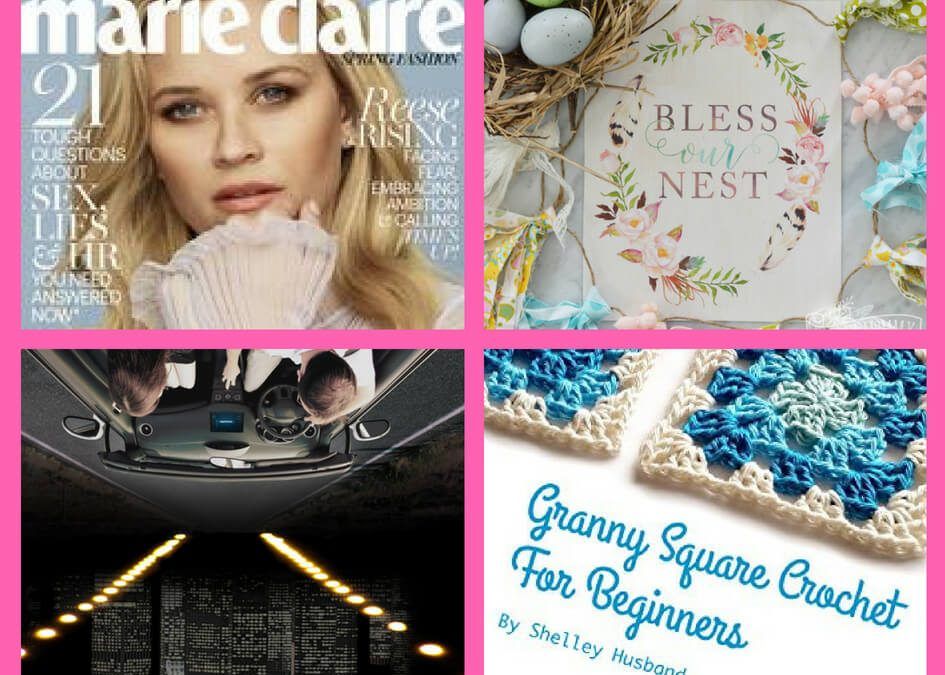 Don't Miss These FOUR (4!) FREEbies: One Year Subscription to Marie Claire Magazine, Bless this Nest House Decor, Sirius XM Radio and Crocket eBook!