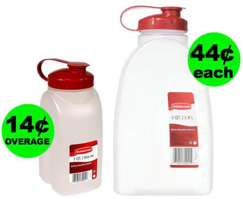 Fox Deal Of The Week: Get Paid To Buy Rubbermaid Water Bottles At Walmart Or Cheap At Target! (Deal Ends 7/8/18)