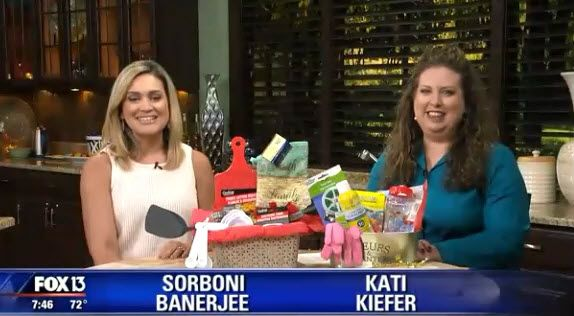 (Video Replay) Fox TV Savings Segment ~ Inexpensive Gifts For Mother's Day
