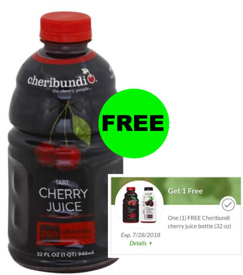 Fox Deal Of The Week: FREE Cherry Juice At Publix With Digital Coupon