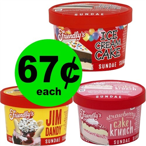 🍨Friendly's Ice Cream Sundae Cups, 67¢ At Publix! (Ends 5/25)