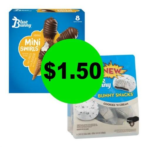 ? Blue Bunny Snacks, $1.50 At Publix! (Ends 5/25)
