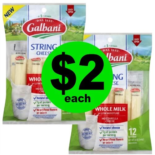 🧀Galbani String Cheese are $2 at Publix! (Ends 5/15 or 5/16)