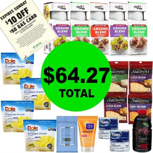 ⛽Get 18 Items Plus $50 Gas Card Just $64.27 Total! Expiring 6/3!