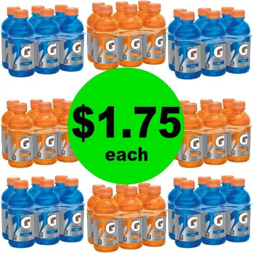 Even Cheaper! Gatorade 6 Packs are $1.57 at Publix! (Ends 5/15 or 5/16)