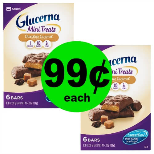 Glucerna Snacks are 99¢ at CVS! (Ends 5/19)