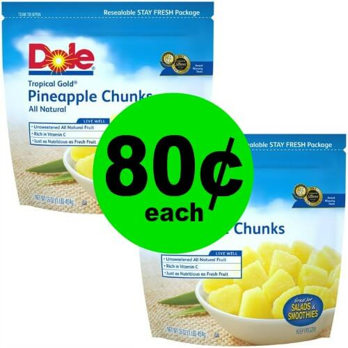 ?Enjoy 80¢ Dole Frozen Fruit Bags at Publix! (5/30-6/5 or 5/31-6/6)