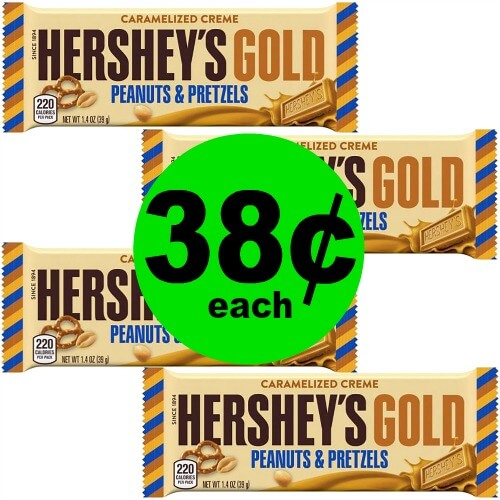 🍫Score 38¢ Hershey's Gold Bars at CVS! (5/27-6/2)