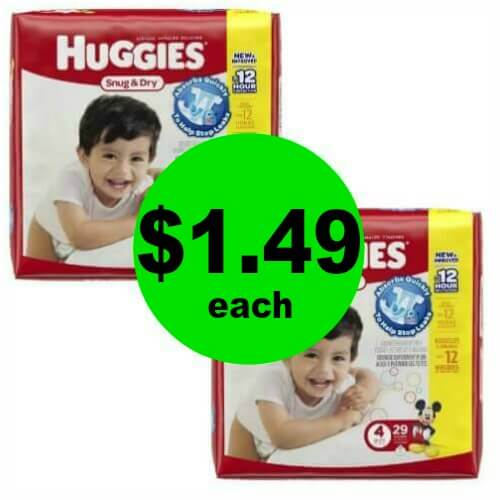 Huggies Diapers Are Only $1.49 Each At Publix! (Ends 5/22 or 5/23)