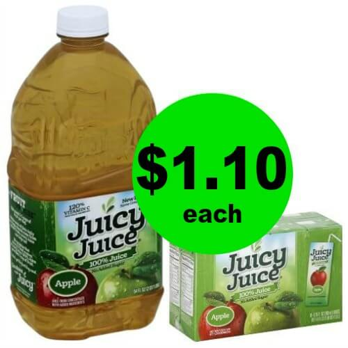 Juicy Juice Drinks Are $1.10 at Publix (Plus Movie Deal)! (Ends 5/22 or 5/23)