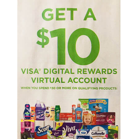 FREE $10 Visa Digital Rewards WYB $30 Of Kimberly-Clark Products At Publix! (Valid 5/19-6/1)