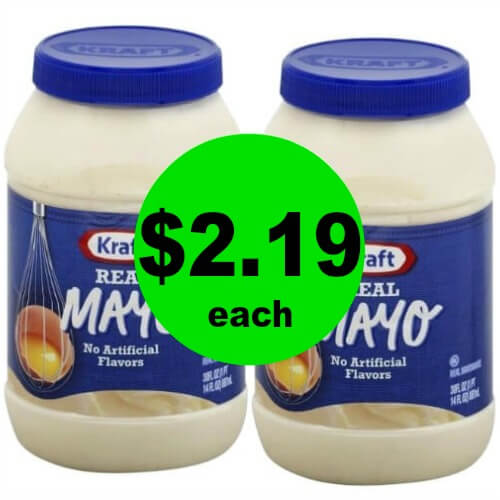 Kraft Mayo or Miracle Whip, $2.19 at Publix! (5/17 – 5/23 or 5/16 – 5/22)