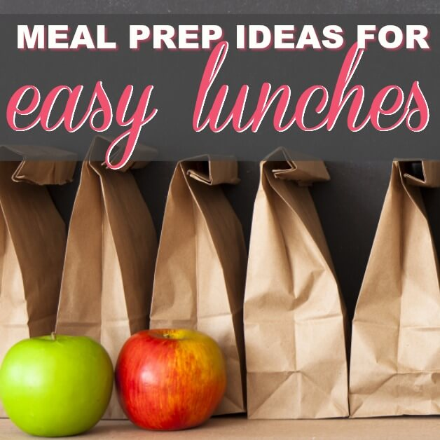 Lunch Meal Prep Ideas: How To Plan 30 Lunches In Minutes (Free Download)