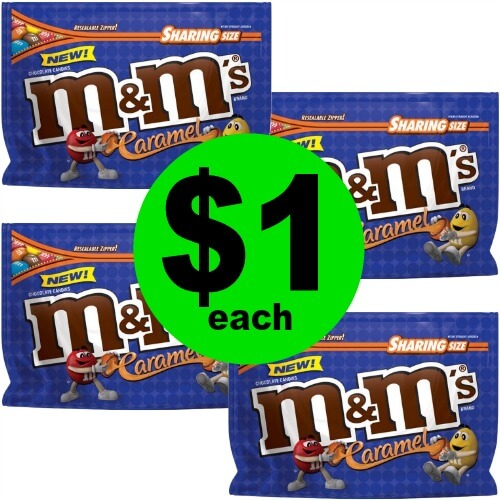 M&M's Caramel Candy Bags, $1 Each at CVS (And Target Too)! (Ends 5/19)