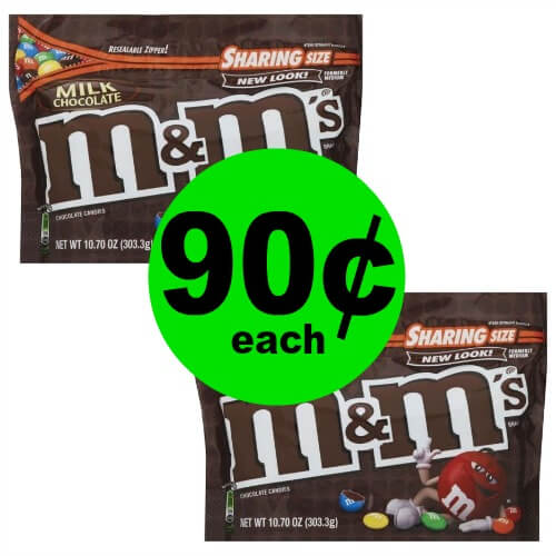 ?Get Your M&M's Candy Bags, $.90 at Publix! (5/2-5/8 or 5/3-5/9)