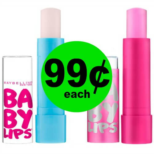 Print for $.99 Maybelline Baby Lips Lip Balm at CVS! (5/13-5/19)