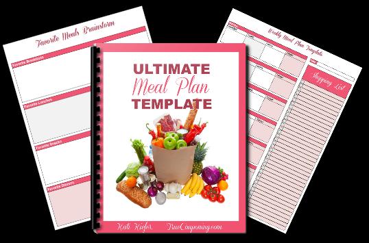FREE Meal Planner Printable!