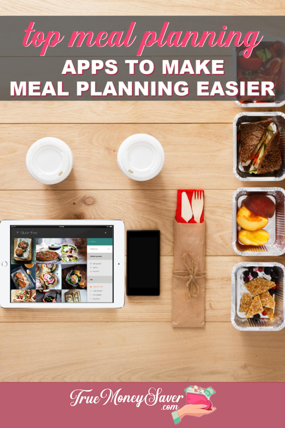 There are 7 FREE Meal Planning Apps that will make your meal planning easier! There are even meal planning apps for families! Try these simple meal planning apps out today!